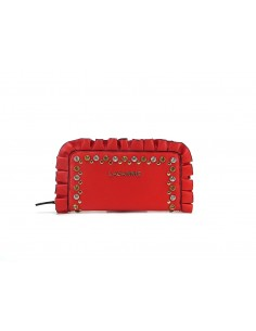 portafoglio LA CARRIE BAG Casanova Big Ecopelle Red
