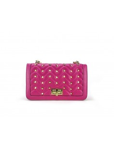 tracollina LA CARRIE BAG Chester Ecopelle Fuxia