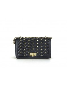 tracollina LA CARRIE BAG Chester Ecopelle Black
