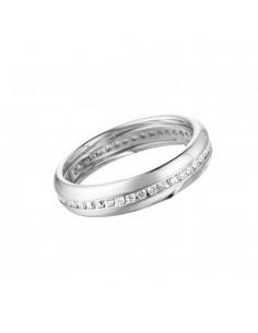 fede matrimoniale POLELLO Eternity Oro 18 kt Diamanti 0,43 kt