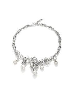 Collana argento Mari del Sud GIOVANNI RASPINI grande 44 cm