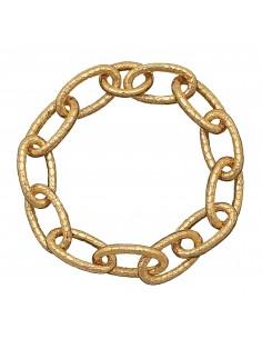 Collana argento golden CROCODILE Giovanni RASPINI