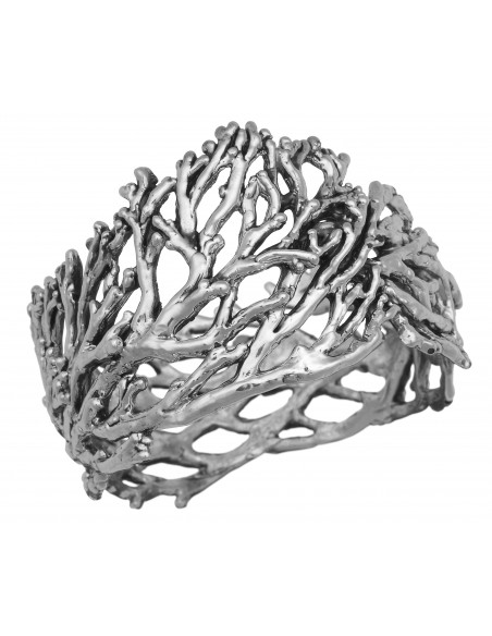bracciale argento rigido super coral Giovanni Raspini