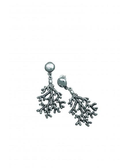 orecchini argento coral Giovanni Raspini