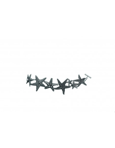bracciale argento stelle marine Giovanni Raspini