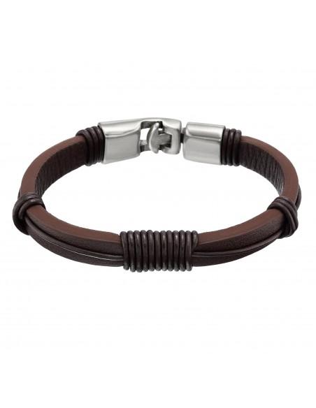 bracciale UNO DE 50 Re-evoluciones - marrone