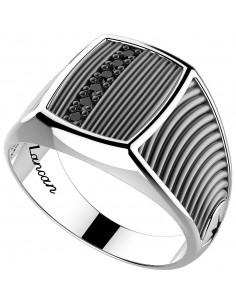 Anello in argento 925 ZANCAN da uomo - Cosmopolitan