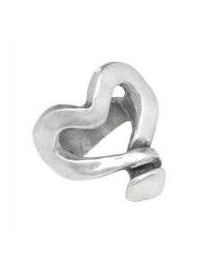 anello UNO DE 50 Corazón clavado XXL