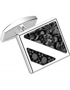 Gemelli in argento ZANCAN da uomo - Gotik