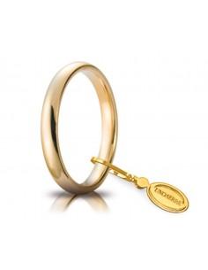 Fede matrimoniale Comoda UNOAERRE Oro Giallo gr. 4 mm. 3