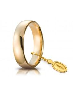 Fede matrimoniale Comoda UNOAERRE Oro Giallo gr. 7.5 mm. 5