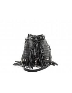 Secchiello LA CARRIE BAG Unforgettable Big Ecopelle | Black
