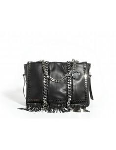 Shopper LA CARRIE BAG Unforgettable Large Ecopelle | Black