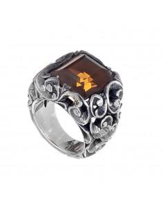 MARIA E LUISA anello a fede in argento