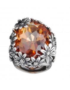anello argento color margherite Giovanni Raspini