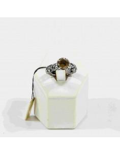 MARIA E LUISA anello citrino in argento