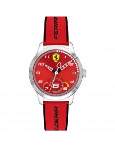 Orologio Ferrari pitlane rosso - FER0860004