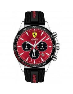Orologio Ferrari pilota rosso crono - FER0830595