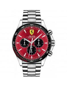 Orologio Ferrari pilota rosso crono - FER0830619