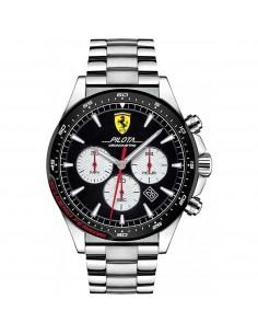 Orologio Ferrari pilota nero crono - FER0830599