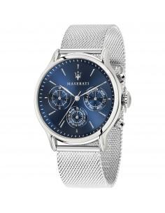 Orologio Maserati epoca multi blue dial ss mesh
