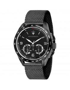 Orologio Maserati traguardo black dial black