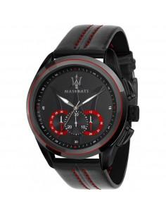 Orologio Maserati traguardo nero e rosso