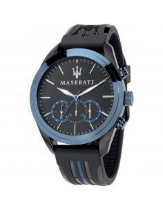 Orologio Maserati traguardo nero e azzurro