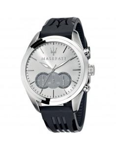 Orologio Maserati traguardo bianco e nero