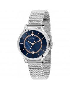 Orologio Maserati epoca blu e acciaio