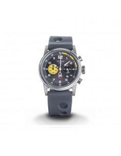 Orologio DUCATI Nero Sunray con finiture gialle - Cronografo al quarzo con due contatori