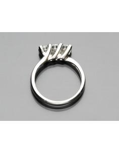 anello trilogy Dubai diamanti kt. 0,60 Opera Italiana Jewellery
