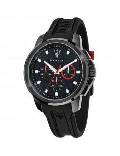 Orologio Maserati sfida nero con dettagli rossi