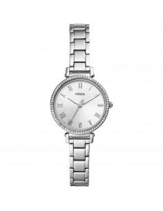 Fossil orologio donna Kinsey. In acciaio di colore silver con finitura lucida
