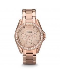 Fossil orologio donna Riley. In acciaio placcato rose gold.