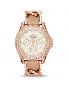 Fossil orologio donna Riley. In acciaio placcato di colore rose?