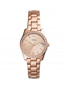 Fossil orologio donna Scarlette Mini. Il quadrante e? di colore rose gold