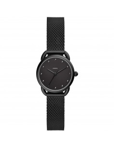 Fossil orologio donna Tailor Mini. In acciaio di colore nero e finitura lucida.