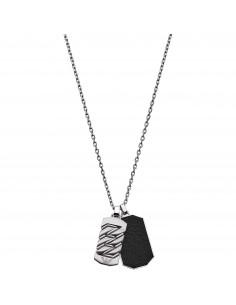 Emporio Armani Collana uomo Link & Chains.In acciaio inossidabile EGS2437040
