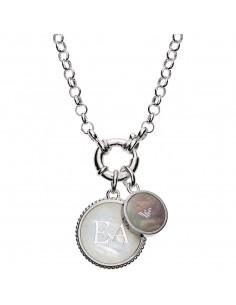 Emporio Armani Collana donna Charmed. In argento colore silver