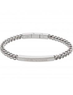 Emporio Armani Bracciale uomo Links & Chains.In acciaio inossidabile EGS2416040