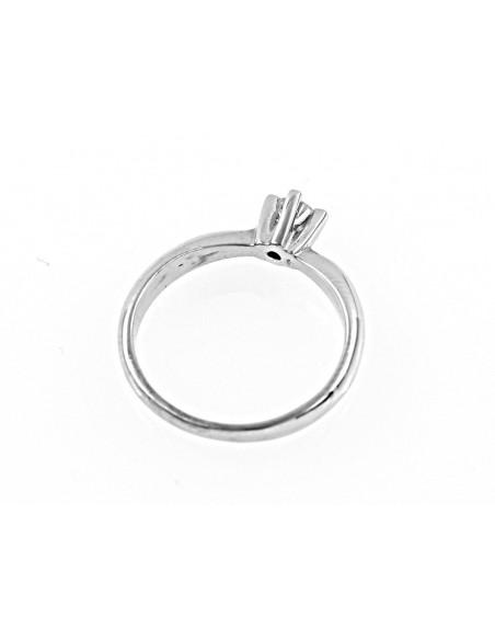 anello solitario Venezia Luxury diamante kt. 0,12 Opera Italiana Jewellery