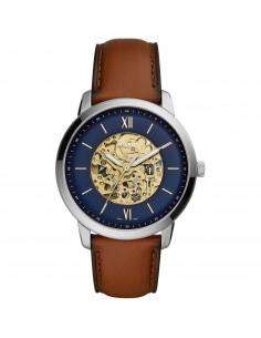 Fossil orologio uomo Neutra Automatic. In acciaio inossidabile Quadrante di colore blu. ME3160
