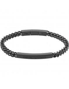 Emporio Armani Bracciale uomo Links & Chains.In acciaio di colore nero EGS2415001