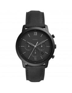 Fossil orologio uomo Neutra Chrono. In acciaio inossidabile di colore nero FS5503