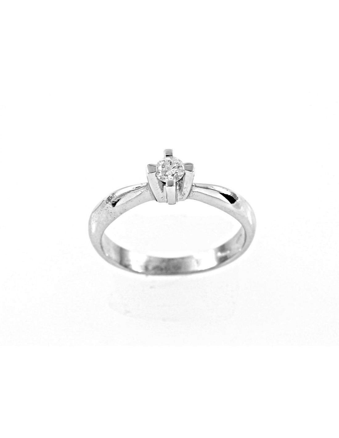 ad8474abc8b7 anillo de diamante solitario VENEZIAkt. 0.16 Opera Italiana Jewellery