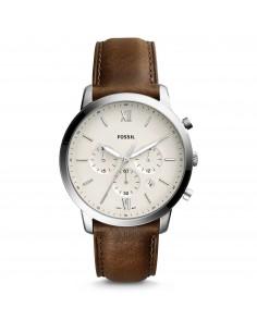 Fossil orologio uomo Neutra Chrono. In acciaio di colore silver FS5380