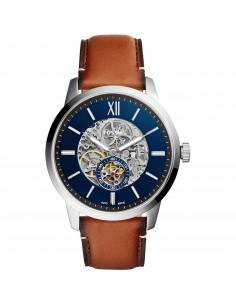 Fossil orologio uomo Townsman A. In acciaio inossidabile. Il quadrante e? di colore blu. ME3154