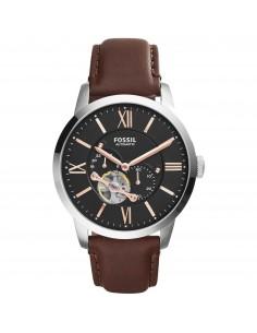 Fossil orologio uomo Townsman A. Cinturino in pelle di colore marrone. ME3061