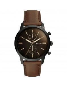 Fossil orologio uomo Townsman. In acciaio inossidabile di colore nero. FS5437